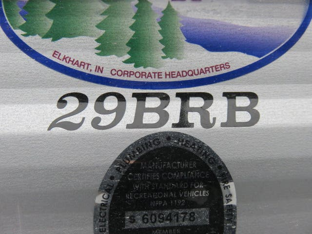 2021 Forest River Cherokee Grey Wolf 29BRB Thumbnail