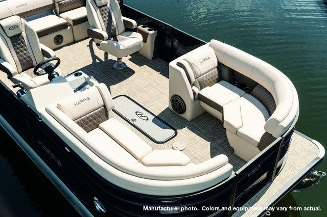 2021 Harris boat for sale, model of the boat is 230Sun/SLDH/TT & Image # 4 of 7