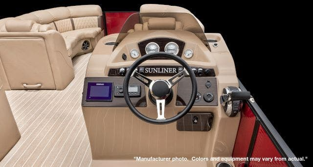 2021 Harris boat for sale, model of the boat is 250Sun/SLDH/TT & Image # 6 of 8