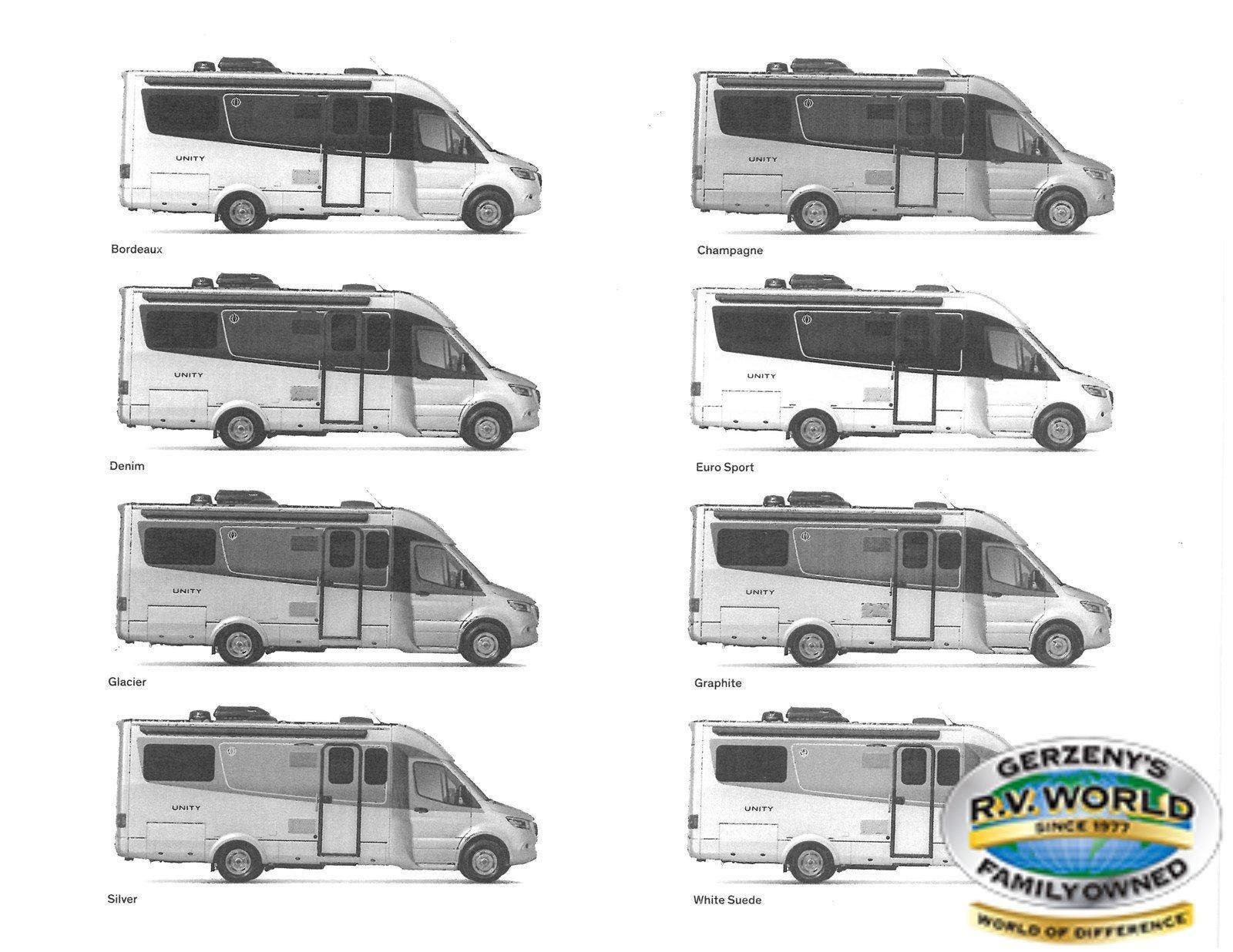 2021 Leisure Travel Vans Unity U24TB Thumbnail