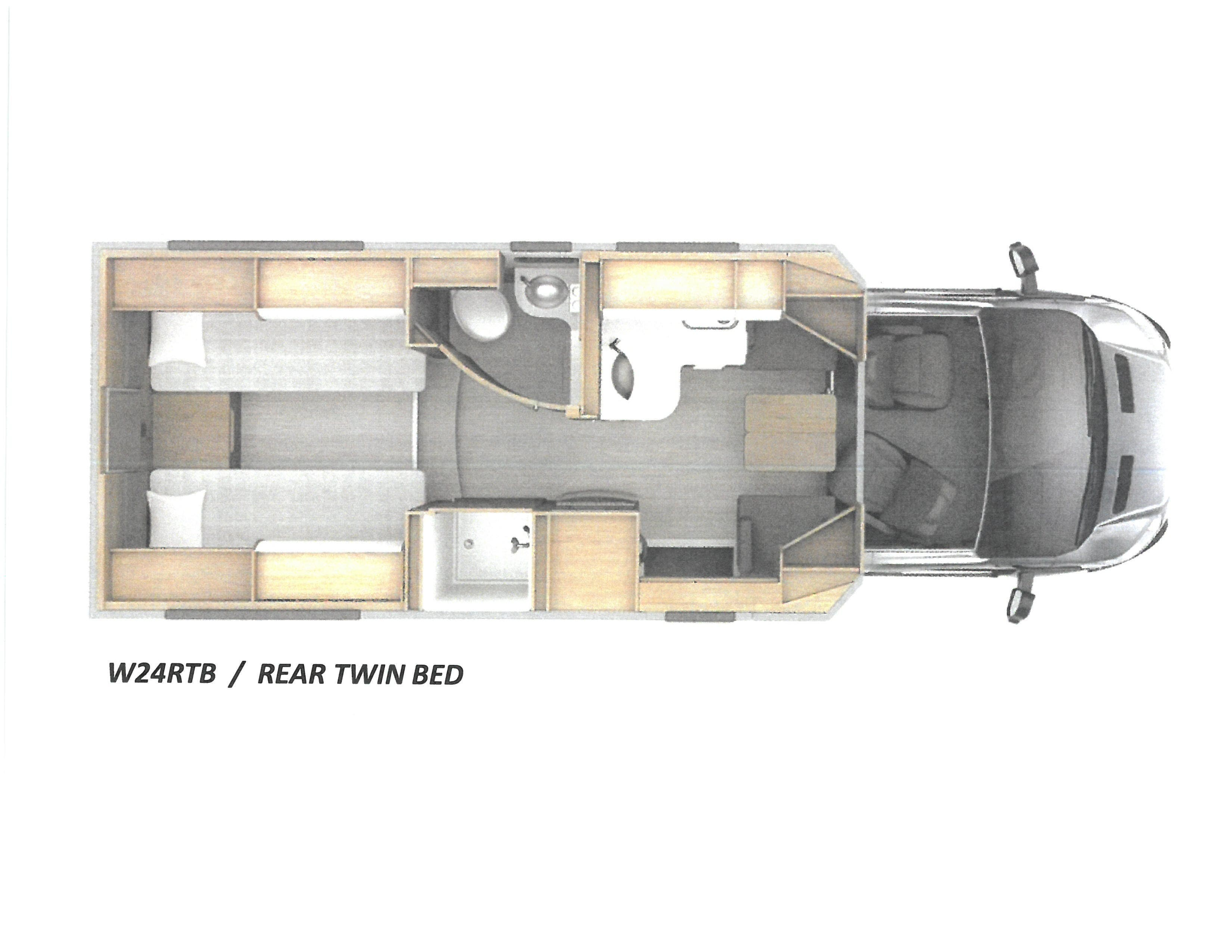2021 Leisure Travel Vans Wonder 24RTB AWD Thumbnail