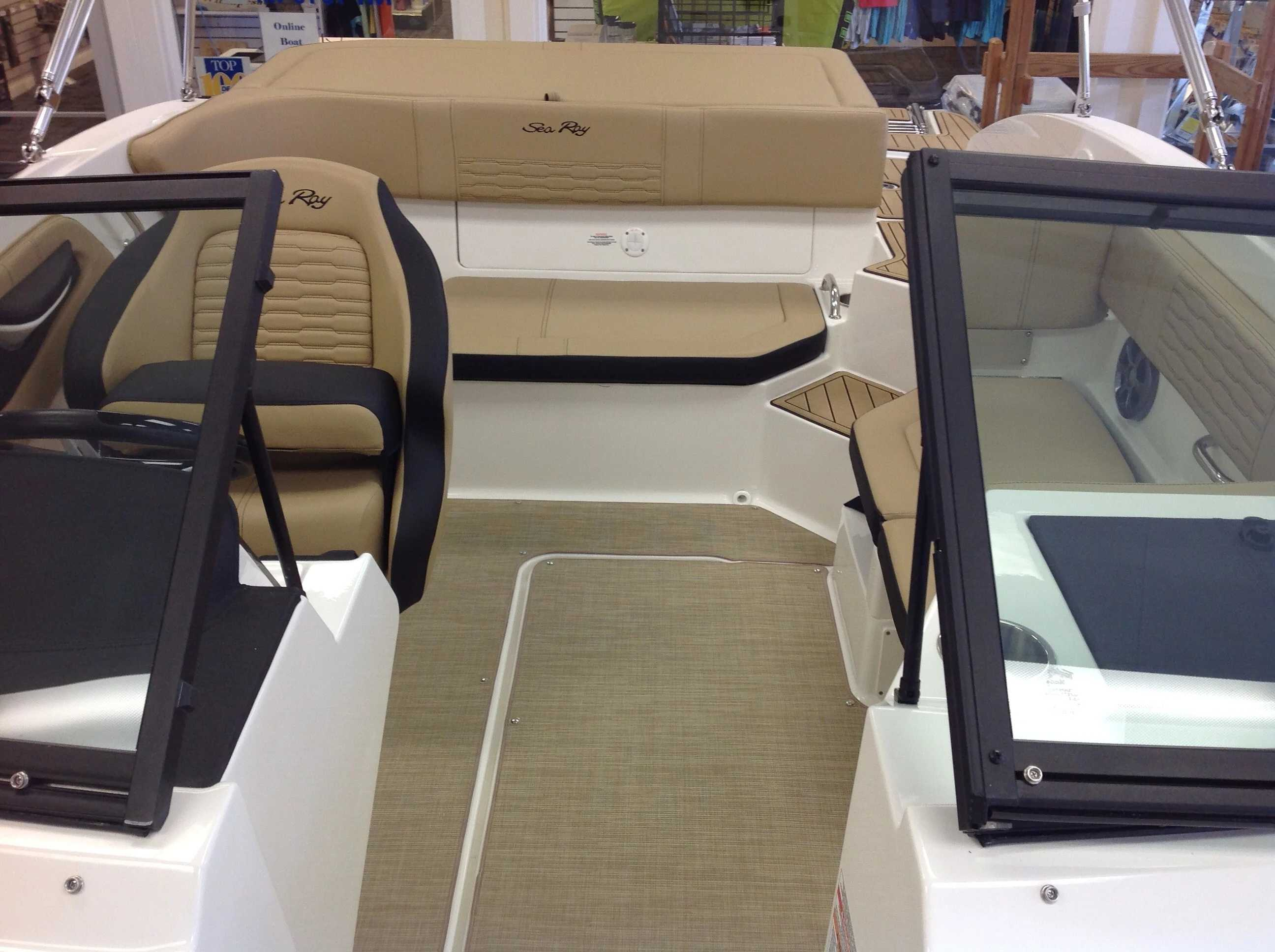 2021 Sea Ray boat for sale, model of the boat is 190 SPX & Image # 5 of 12