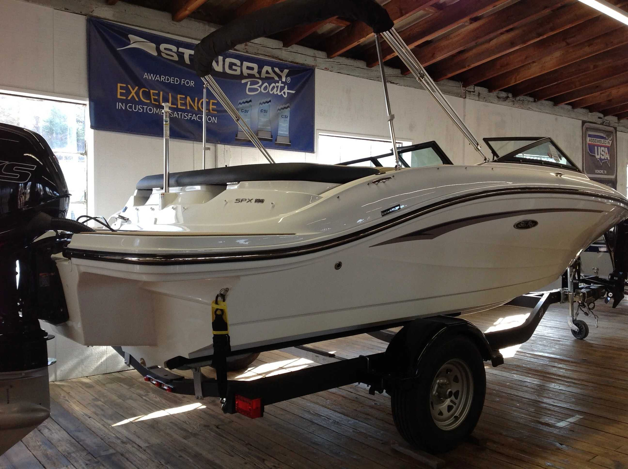 2021 Sea Ray boat for sale, model of the boat is 190 spxo & Image # 4 of 14