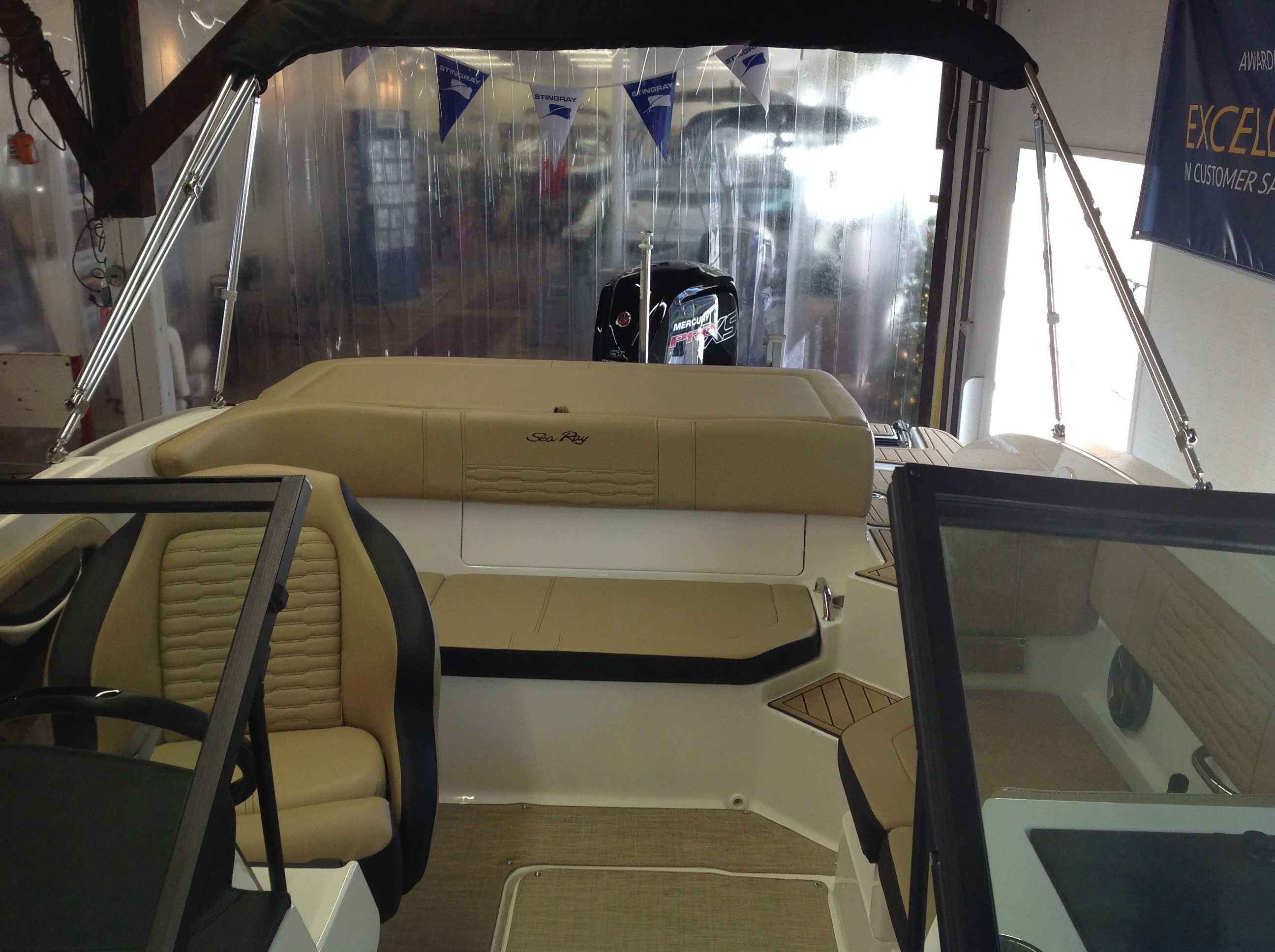 2021 Sea Ray boat for sale, model of the boat is 190 spxo & Image # 7 of 14
