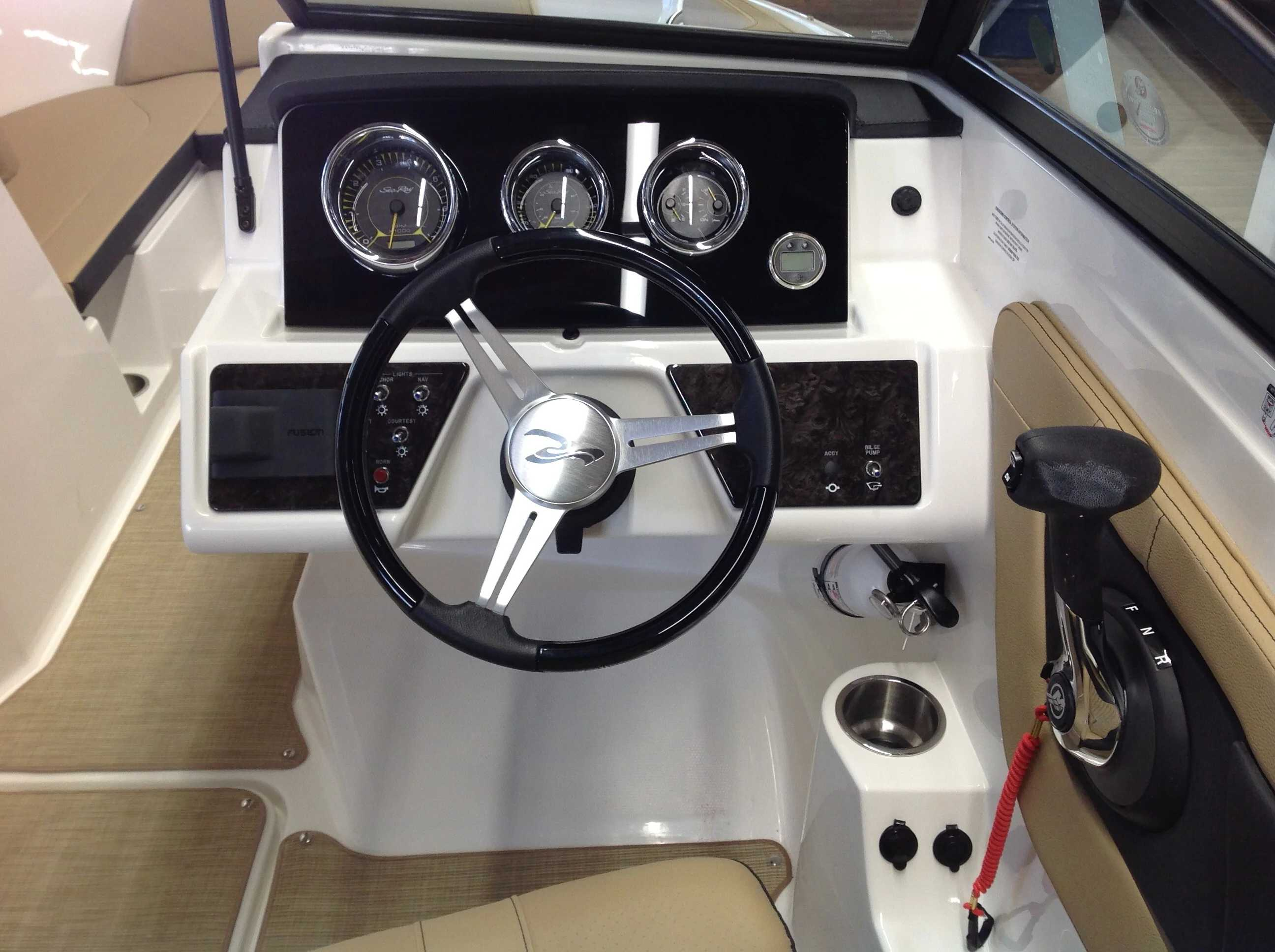 2021 Sea Ray boat for sale, model of the boat is 190 spxo & Image # 9 of 14