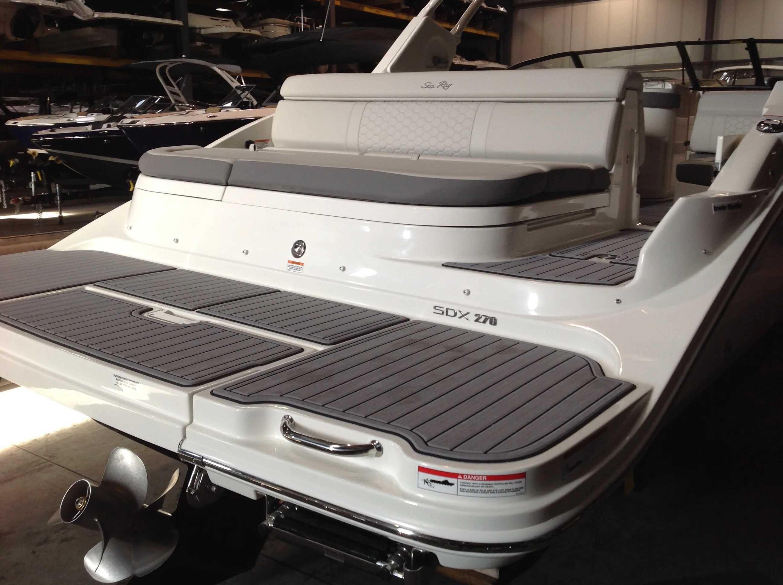 2021 Sea Ray boat for sale, model of the boat is 270 SDX & Image # 18 of 21
