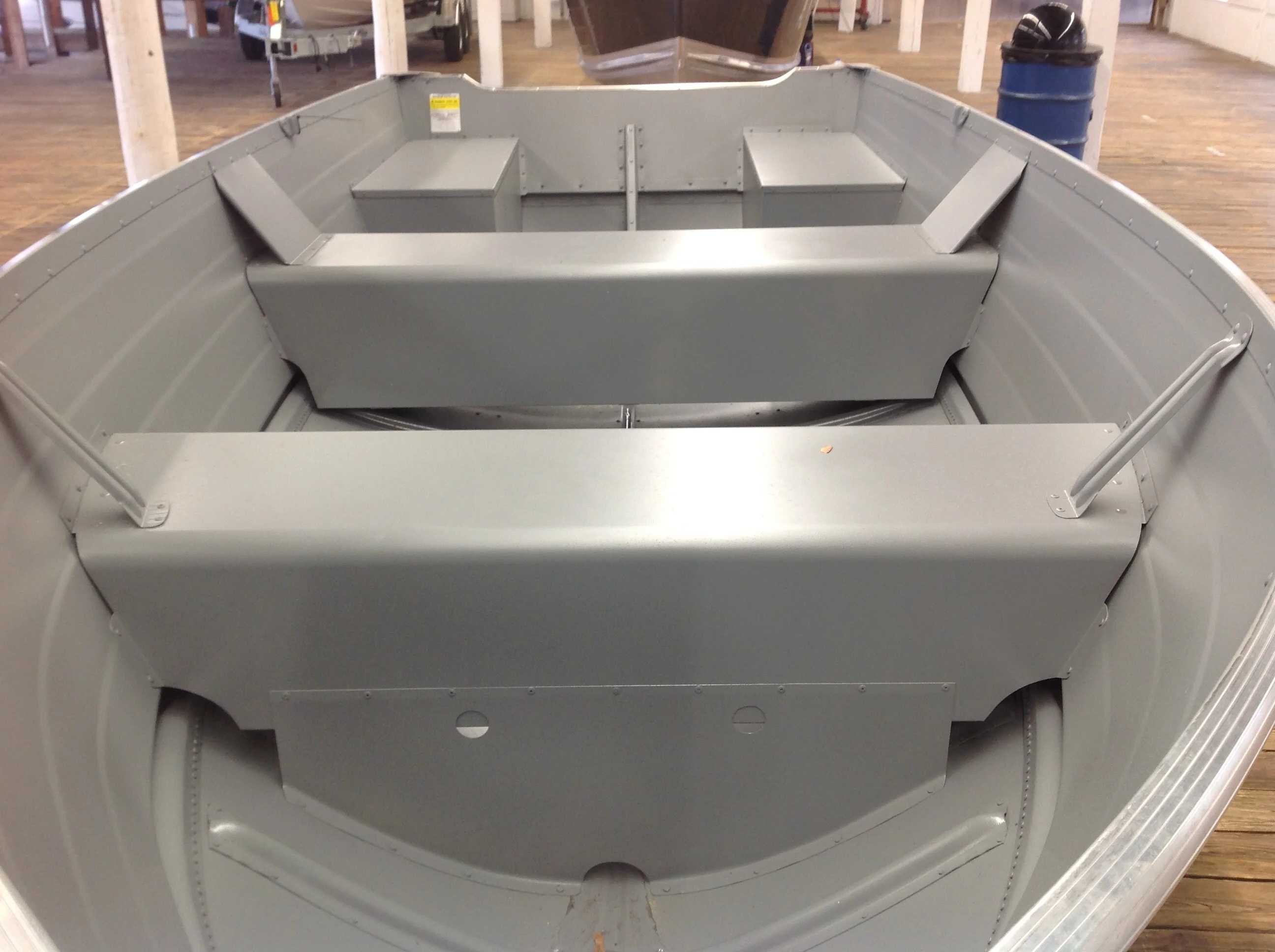 2021 Smoker Craft boat for sale, model of the boat is 14 Voyager Tl Ss & Image # 4 of 8