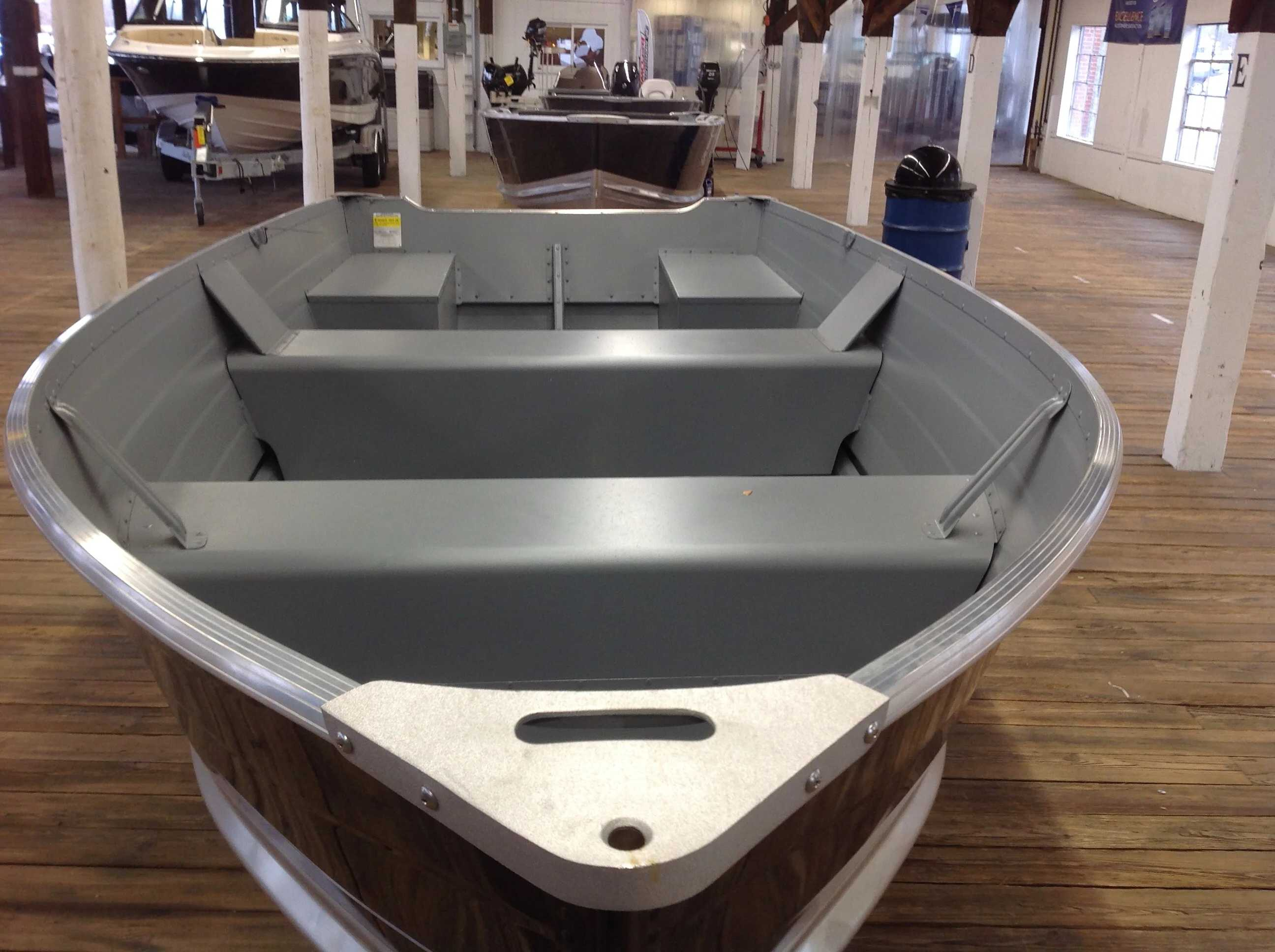 2021 Smoker Craft boat for sale, model of the boat is 14 Voyager Tl Ss & Image # 8 of 8