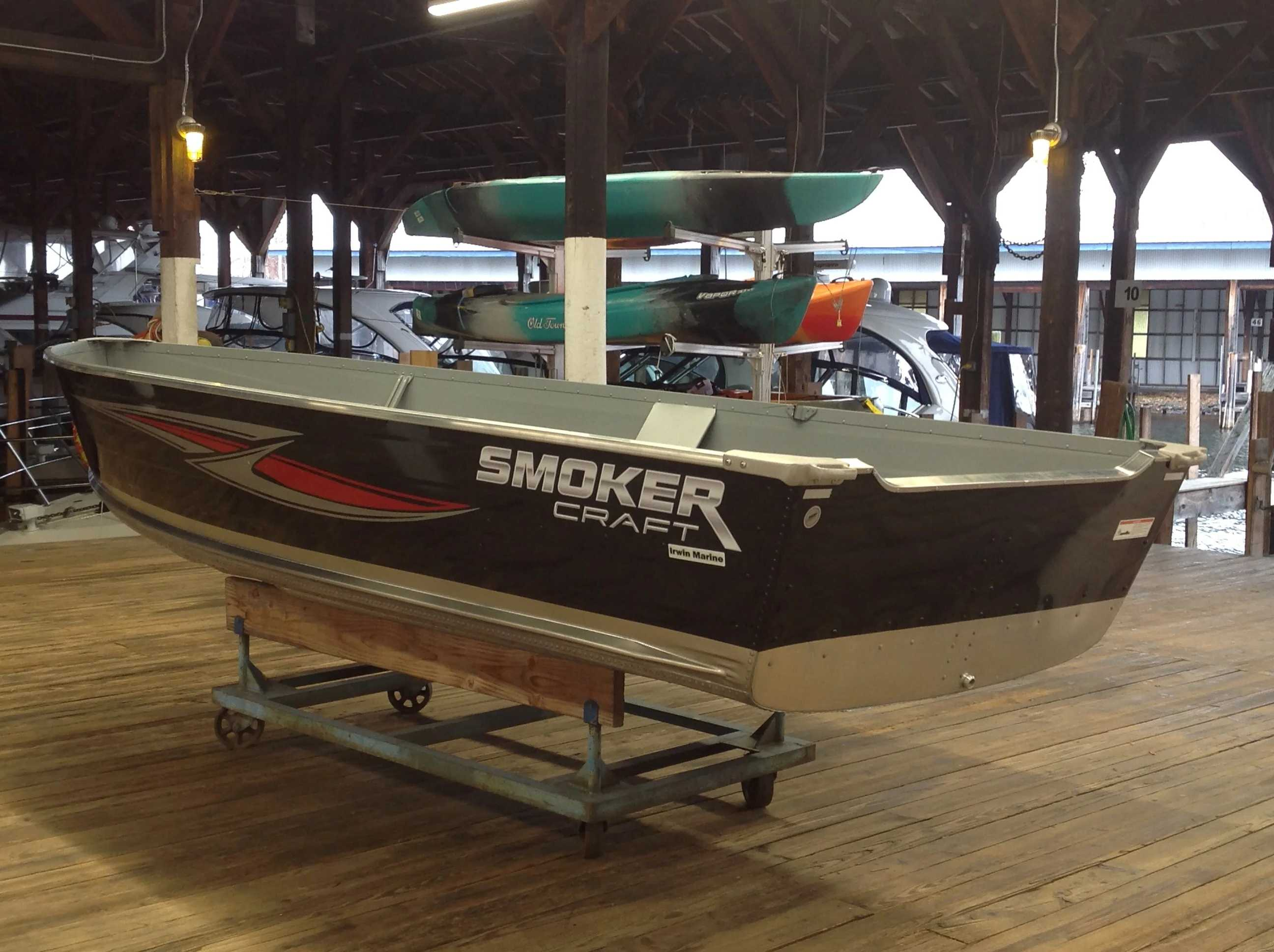 2021 Smoker Craft boat for sale, model of the boat is 14 VOYAGER TS SS & Image # 4 of 9