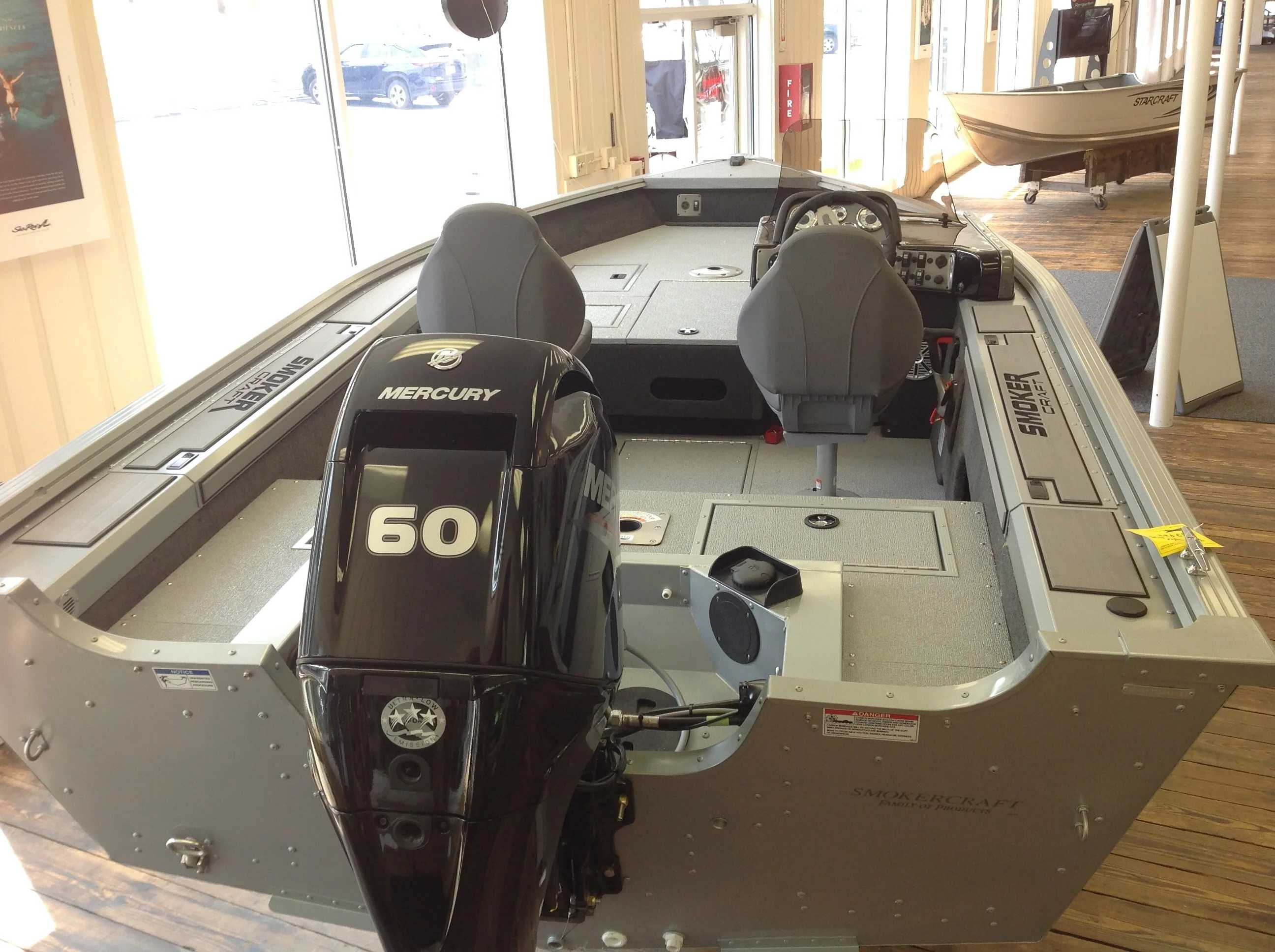 2021 Smoker Craft boat for sale, model of the boat is 161 PRO ANGLER XL & Image # 6 of 7