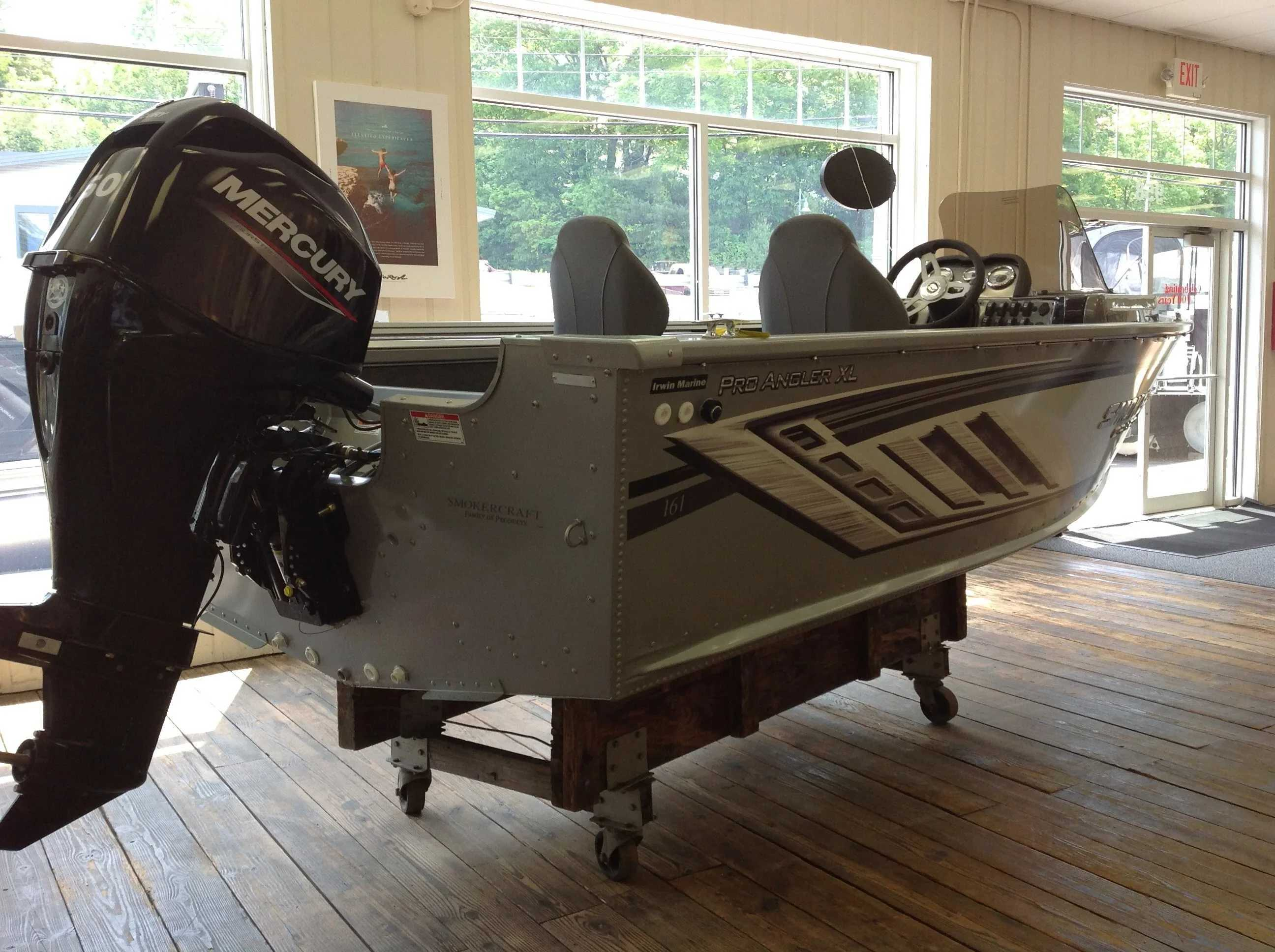 2021 Smoker Craft boat for sale, model of the boat is 161 PRO ANGLER XL & Image # 7 of 7