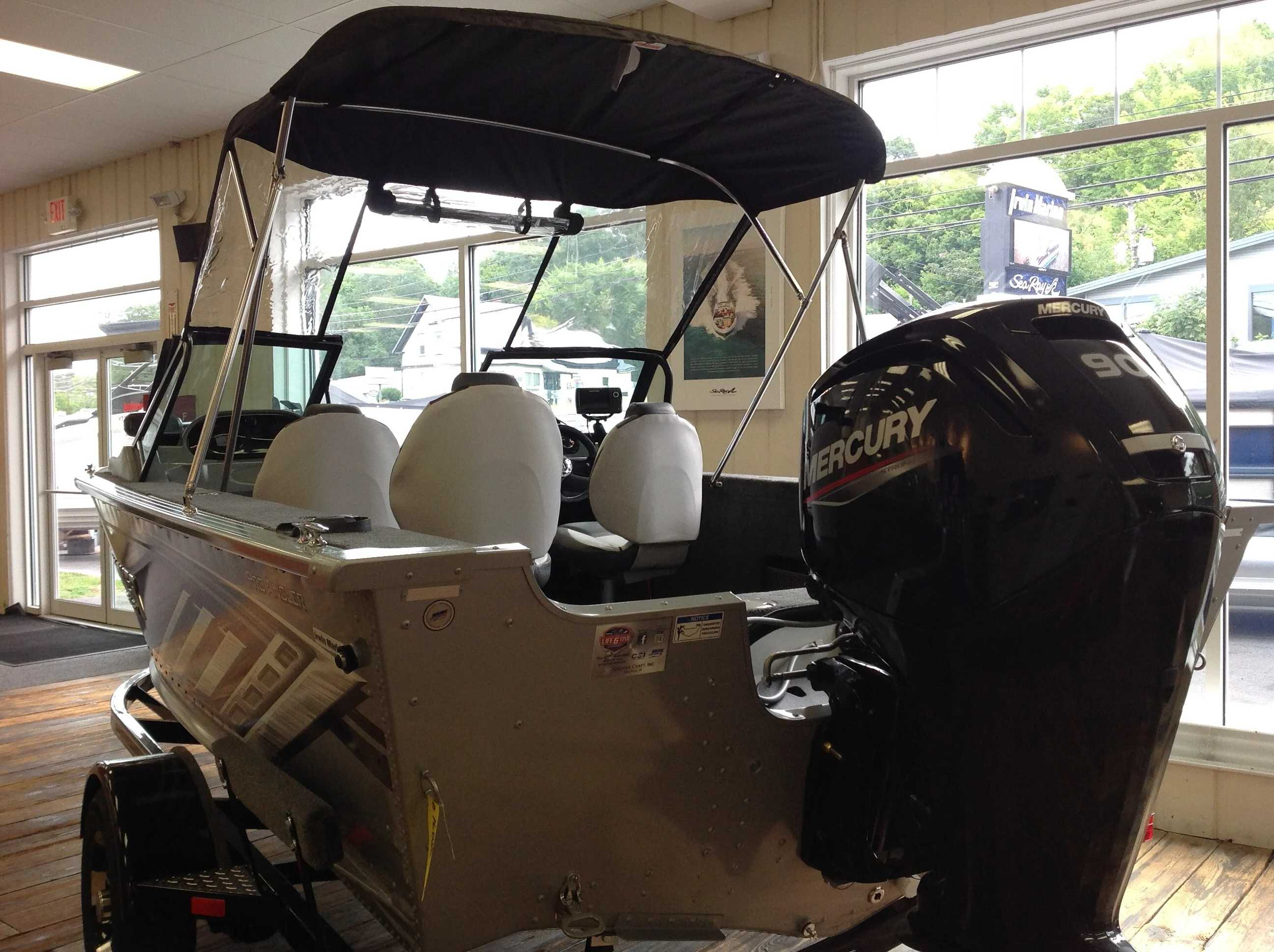 2021 Smoker Craft boat for sale, model of the boat is 172 Pro Angler & Image # 21 of 22