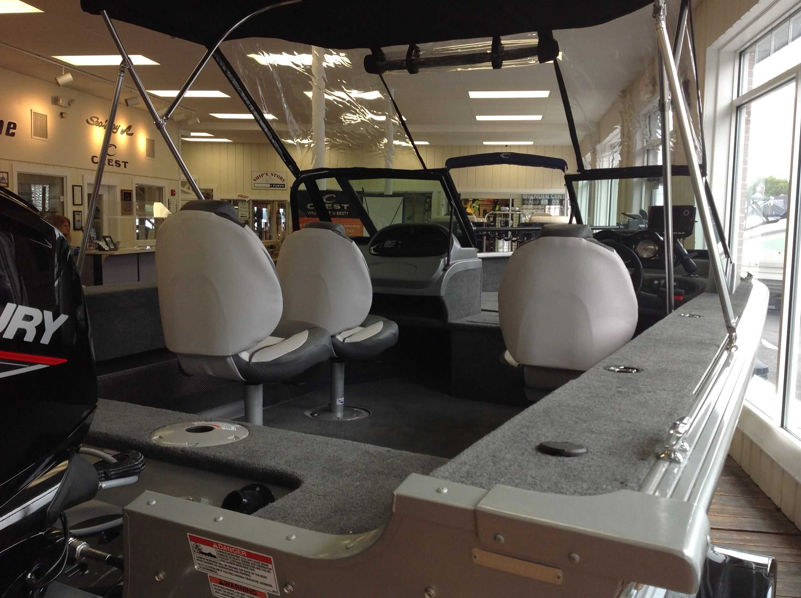 2021 Smoker Craft boat for sale, model of the boat is 172 Pro Angler & Image # 12 of 22