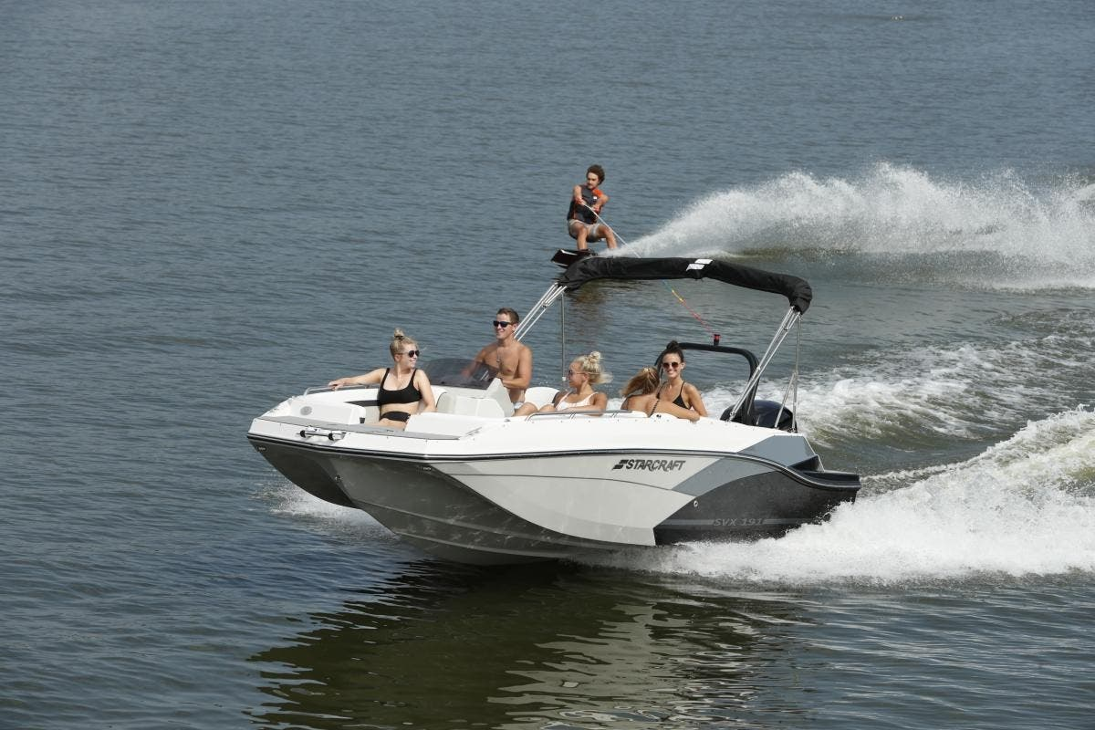 2021 Starcraft boat for sale, model of the boat is SVX 191 OB & Image # 4 of 19