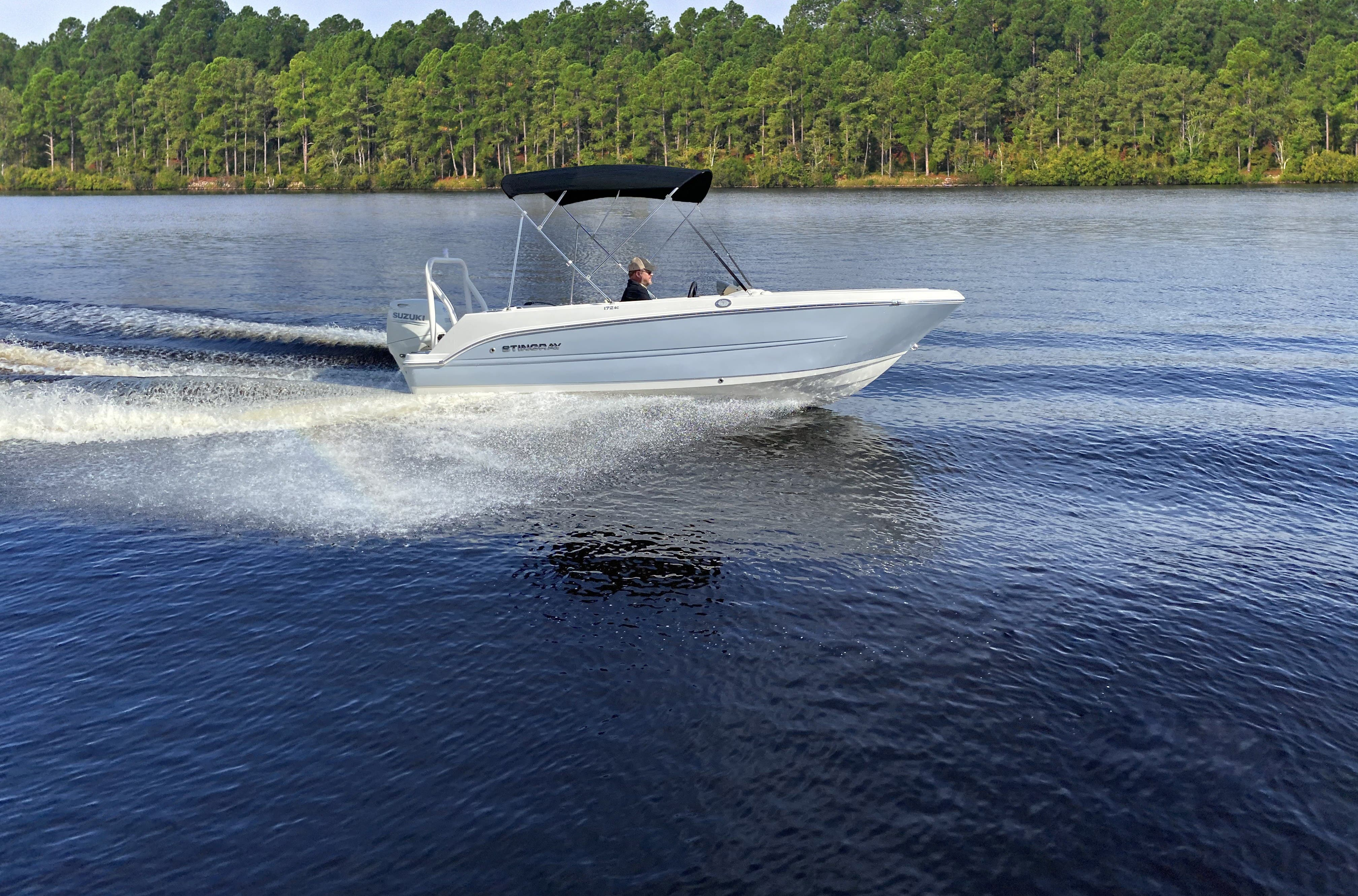 2022 Stingray boat for sale, model of the boat is 172sc & Image # 5 of 17