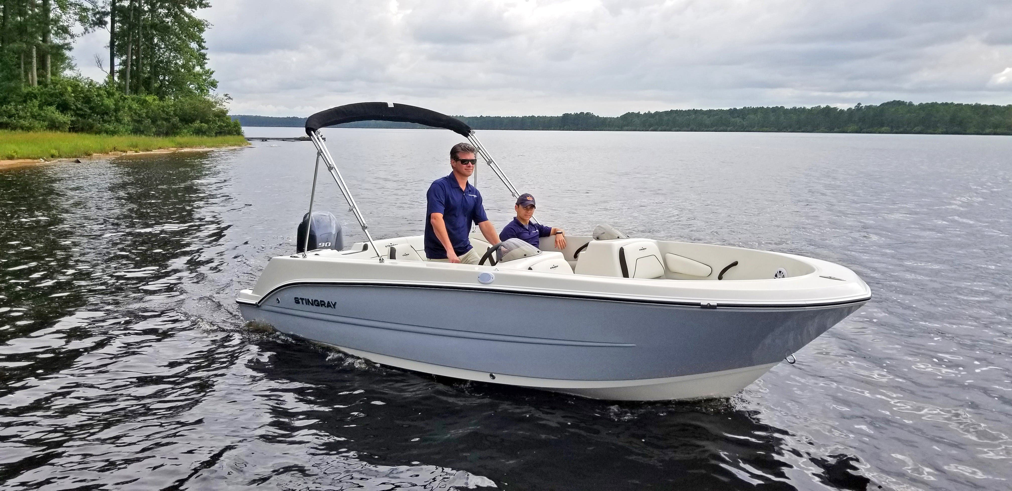 2022 Stingray boat for sale, model of the boat is 172sc & Image # 6 of 17