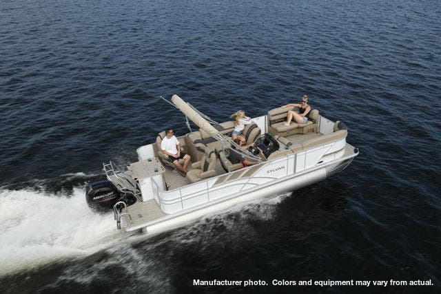 2021 Sylvan boat for sale, model of the boat is L3PF & Image # 5 of 7
