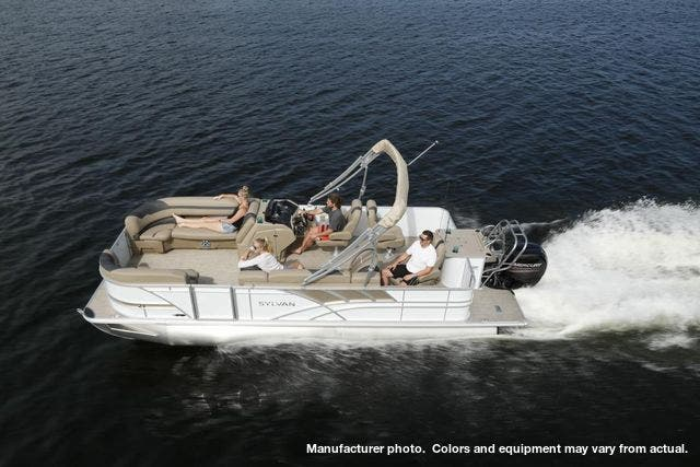 2021 Sylvan boat for sale, model of the boat is L3PF & Image # 7 of 7