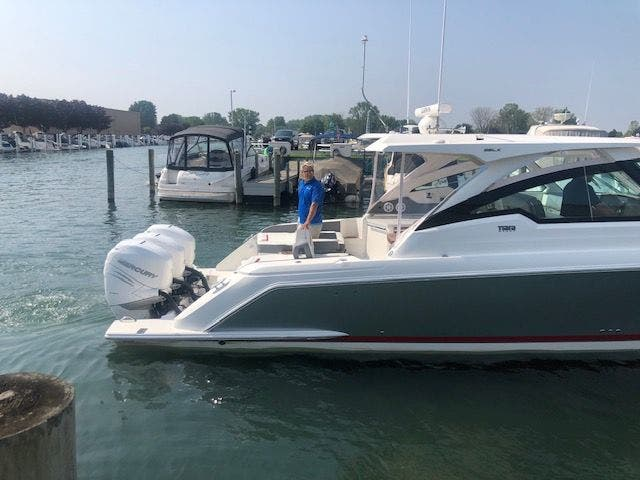 2021 Tiara Yachts boat for sale, model of the boat is 38LX & Image # 6 of 11