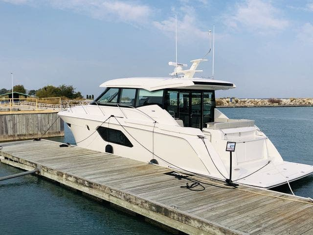 2021 Tiara Yachts boat for sale, model of the boat is 49Coupe & Image # 4 of 48