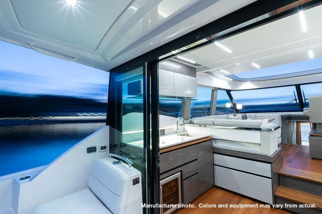 2021 Tiara Yachts boat for sale, model of the boat is 49Coupe & Image # 5 of 17