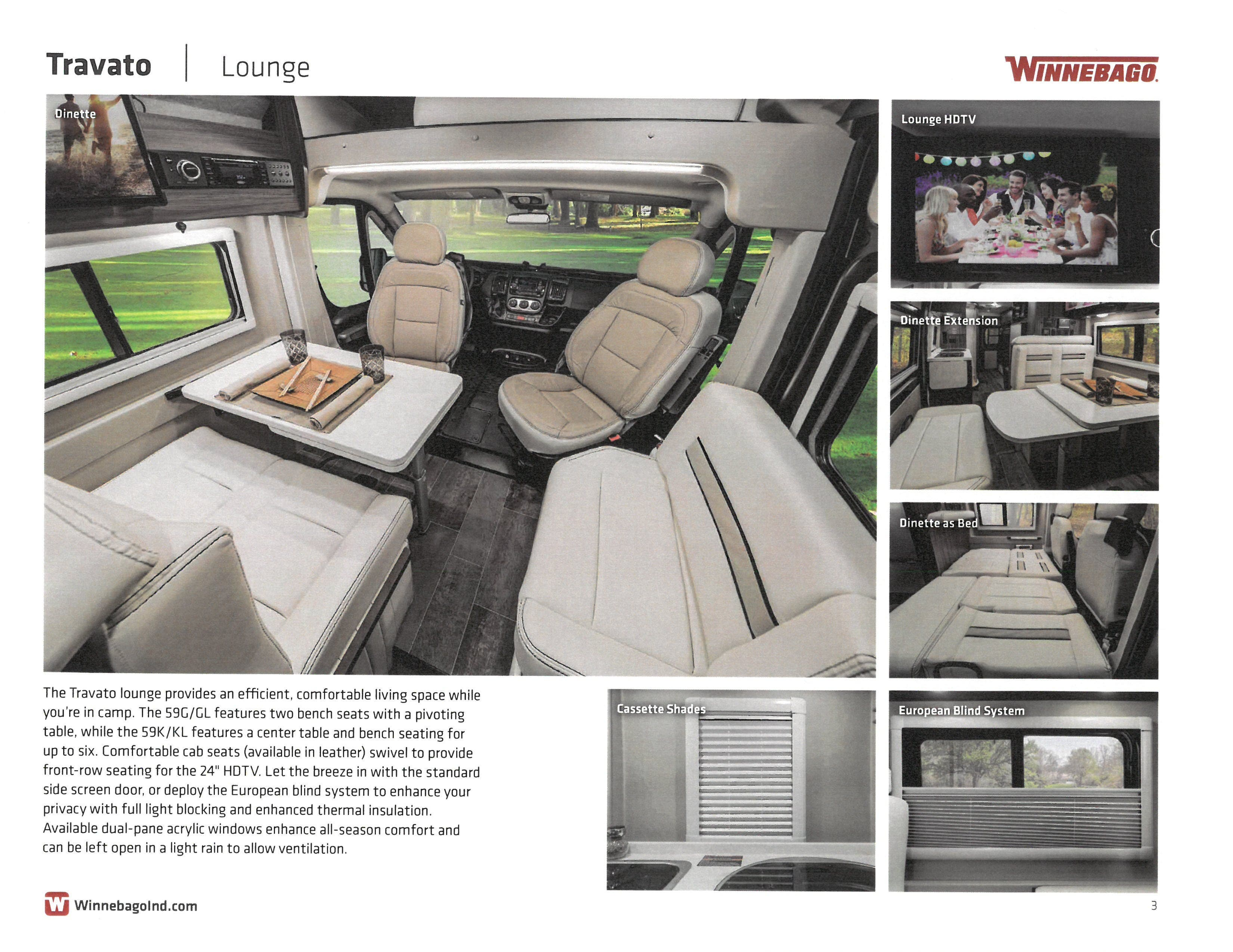 2021 Winnebago Travato 259K Thumbnail