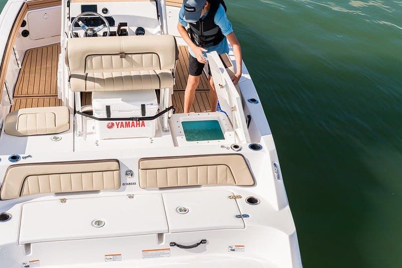 2021 Yamaha boat for sale, model of the boat is 195 FSH & Image # 9 of 11