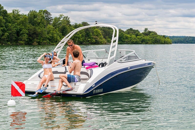 2021 Yamaha boat for sale, model of the boat is 195S & Image # 3 of 11