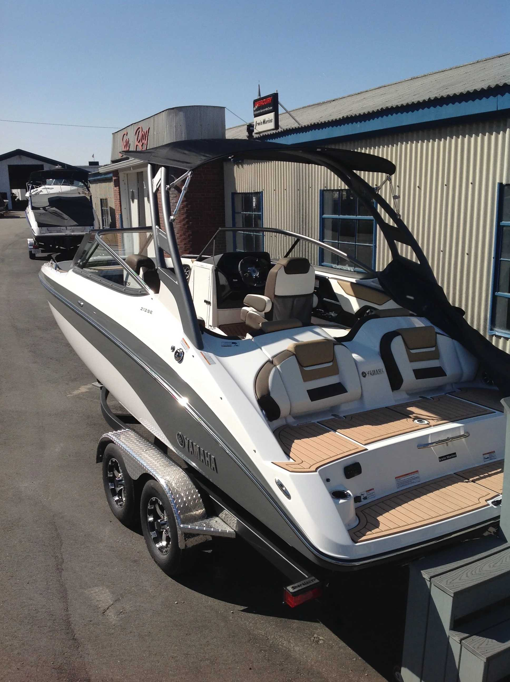 2021 Yamaha boat for sale, model of the boat is 212se & Image # 13 of 14