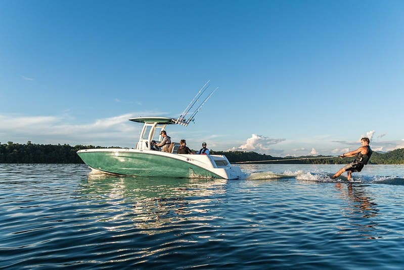 2021 Yamaha boat for sale, model of the boat is 255 FSH Sport E & Image # 4 of 7