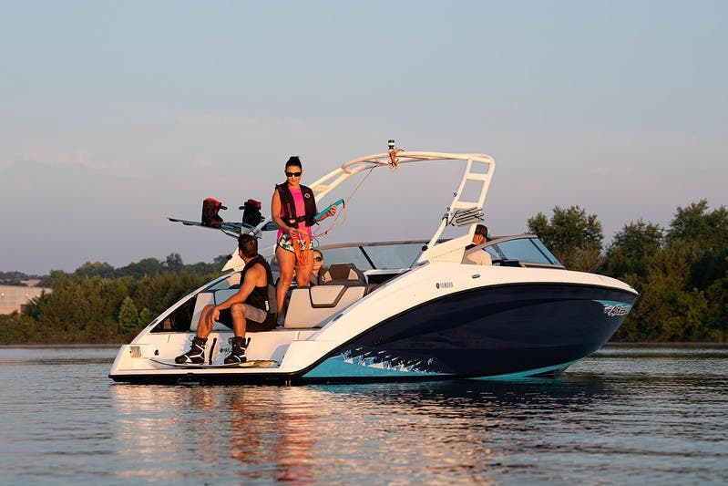 2021 Yamaha boat for sale, model of the boat is AR250 & Image # 4 of 12
