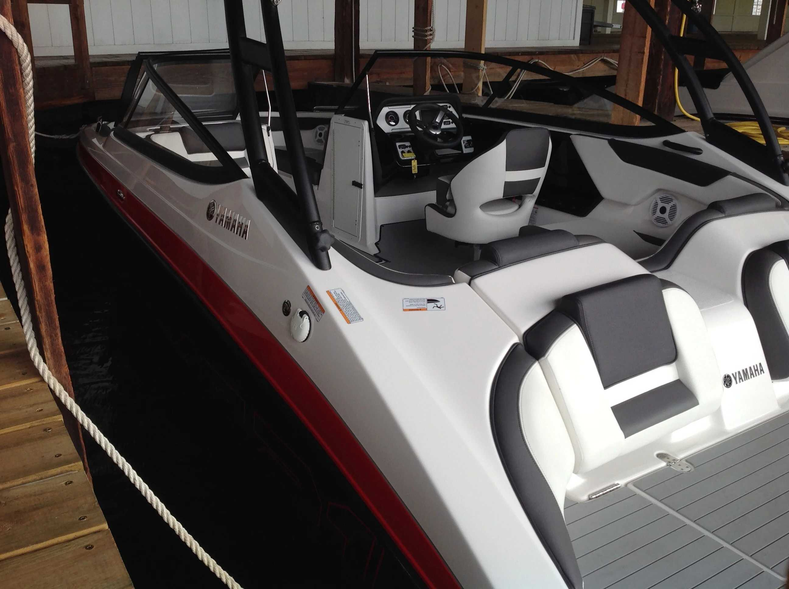 2021 Yamaha boat for sale, model of the boat is Ar210 & Image # 11 of 12