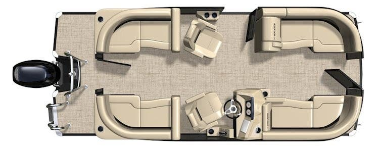 2022 Barletta boat for sale, model of the boat is C20QC & Image # 3 of 3