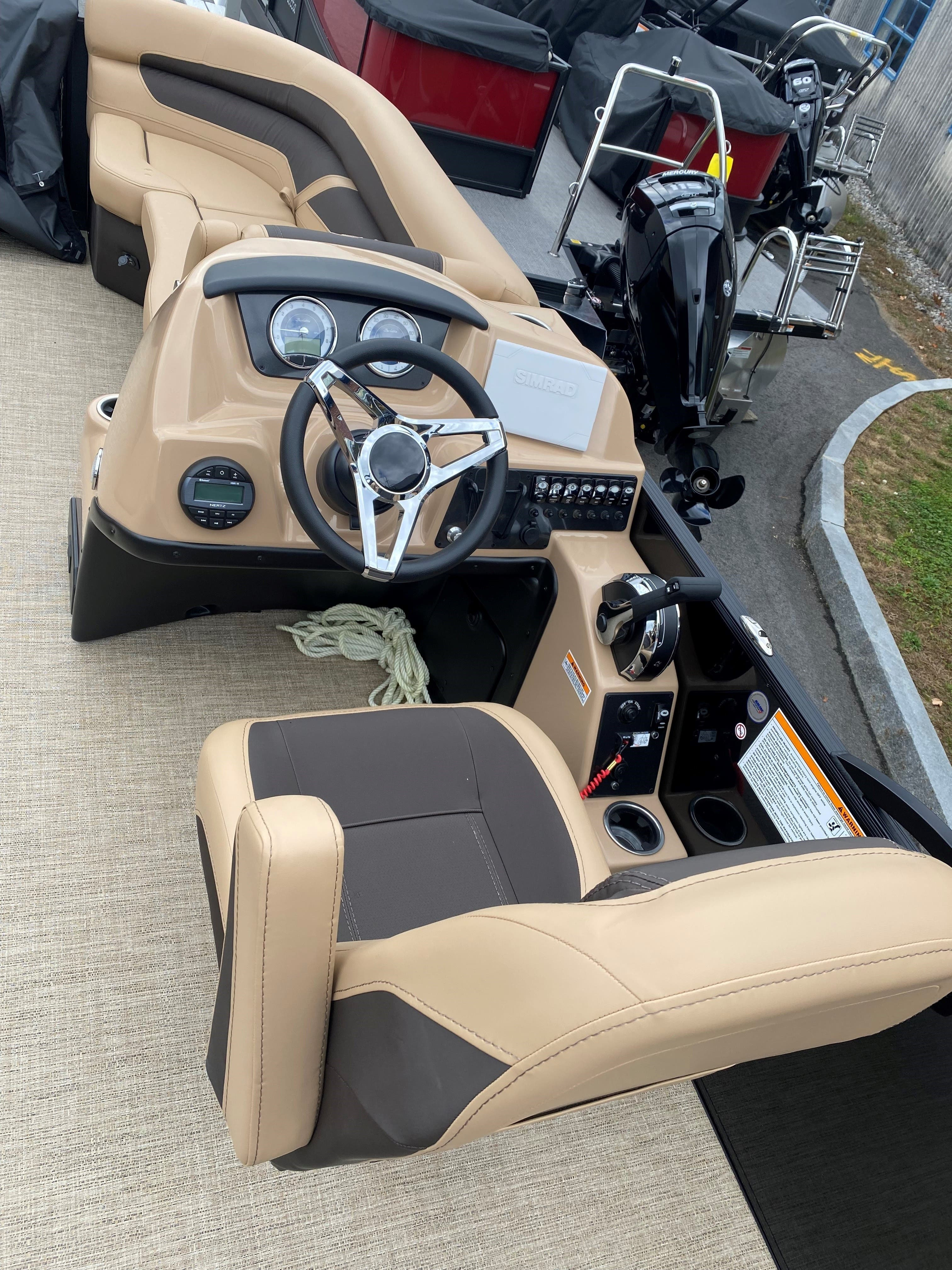 2022 Barletta boat for sale, model of the boat is C22UC & Image # 10 of 12