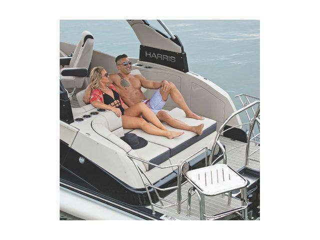 2022 Harris boat for sale, model of the boat is 250Sun/SLDH/TT & Image # 4 of 8