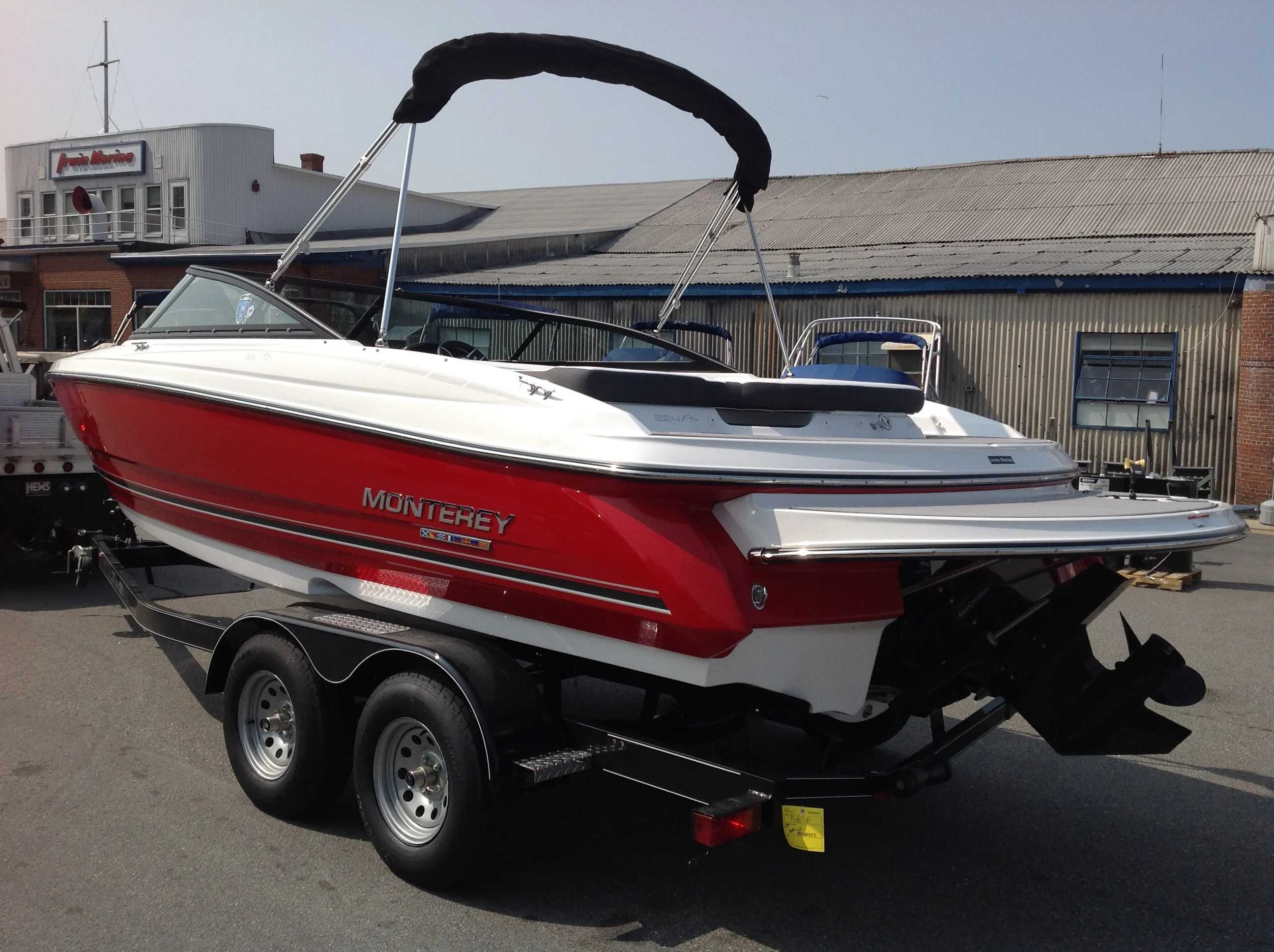 2022 Monterey boat for sale, model of the boat is 224FS & Image # 9 of 10