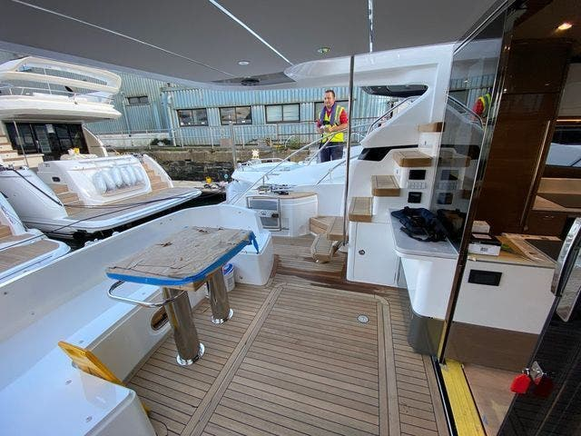 2022 Princess Yachts boat for sale, model of the boat is F55 & Image # 3 of 15