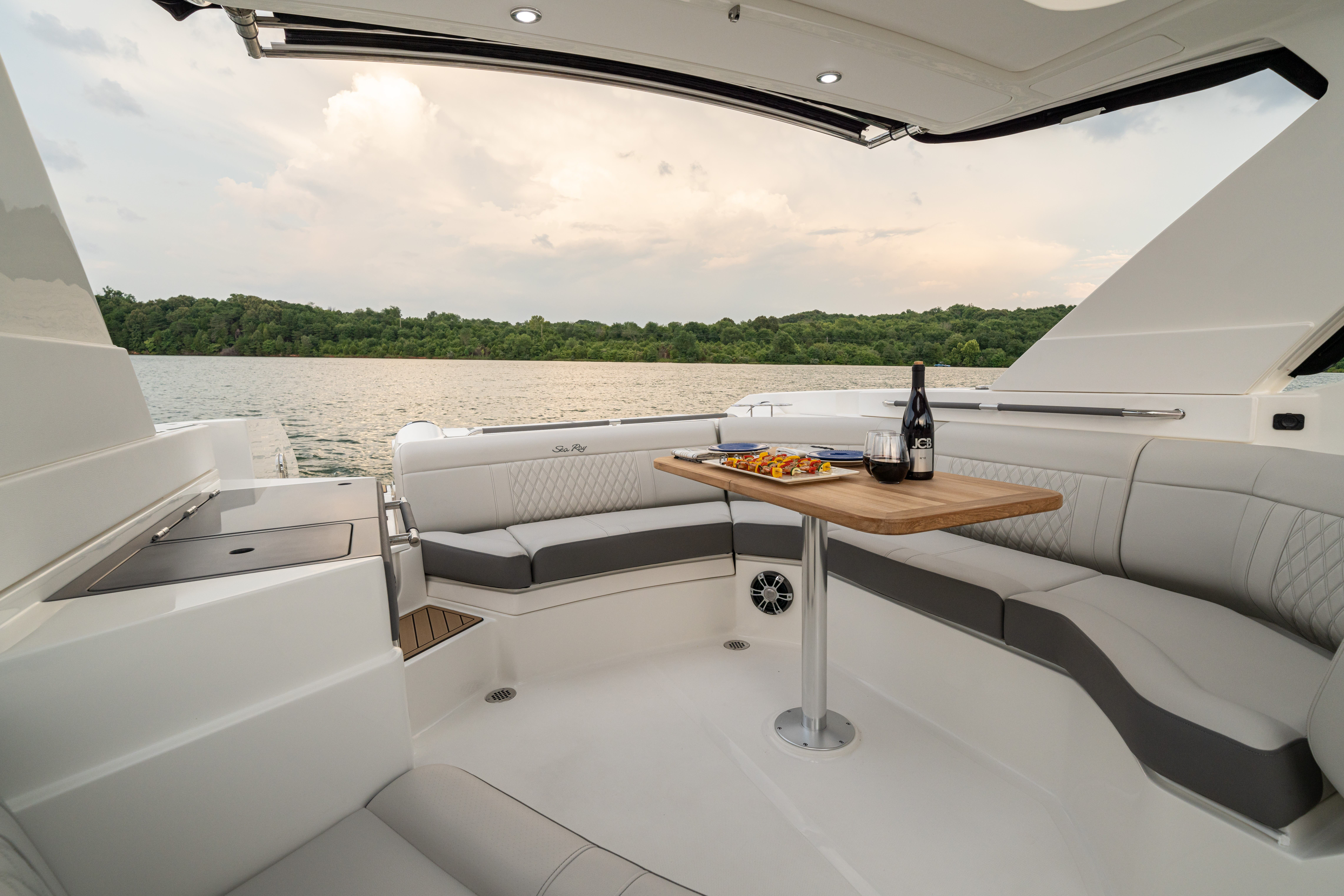 2022 Sea Ray boat for sale, model of the boat is 350slx & Image # 10 of 11
