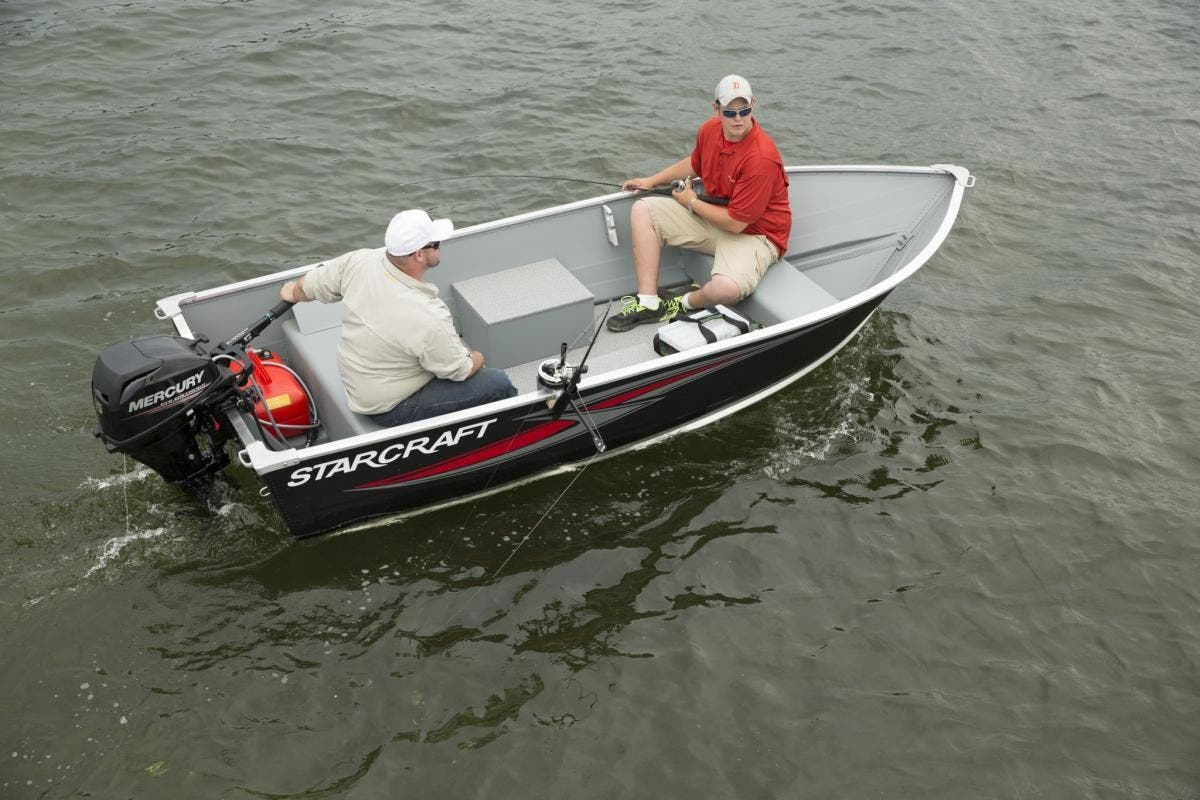 2022 Starcraft boat for sale, model of the boat is 13 ALASKAN TS DLX SS & Image # 3 of 3