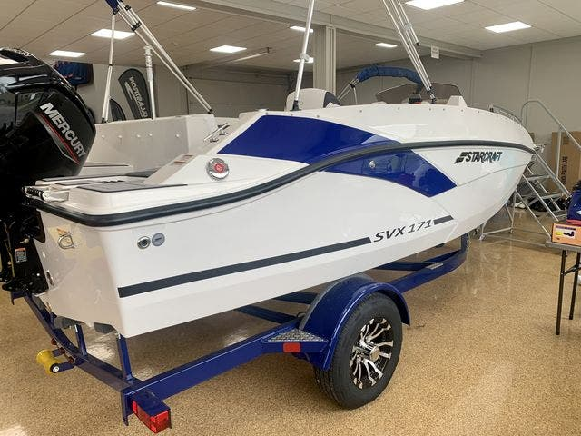 2022 Starcraft boat for sale, model of the boat is 171SVX/OB & Image # 4 of 11