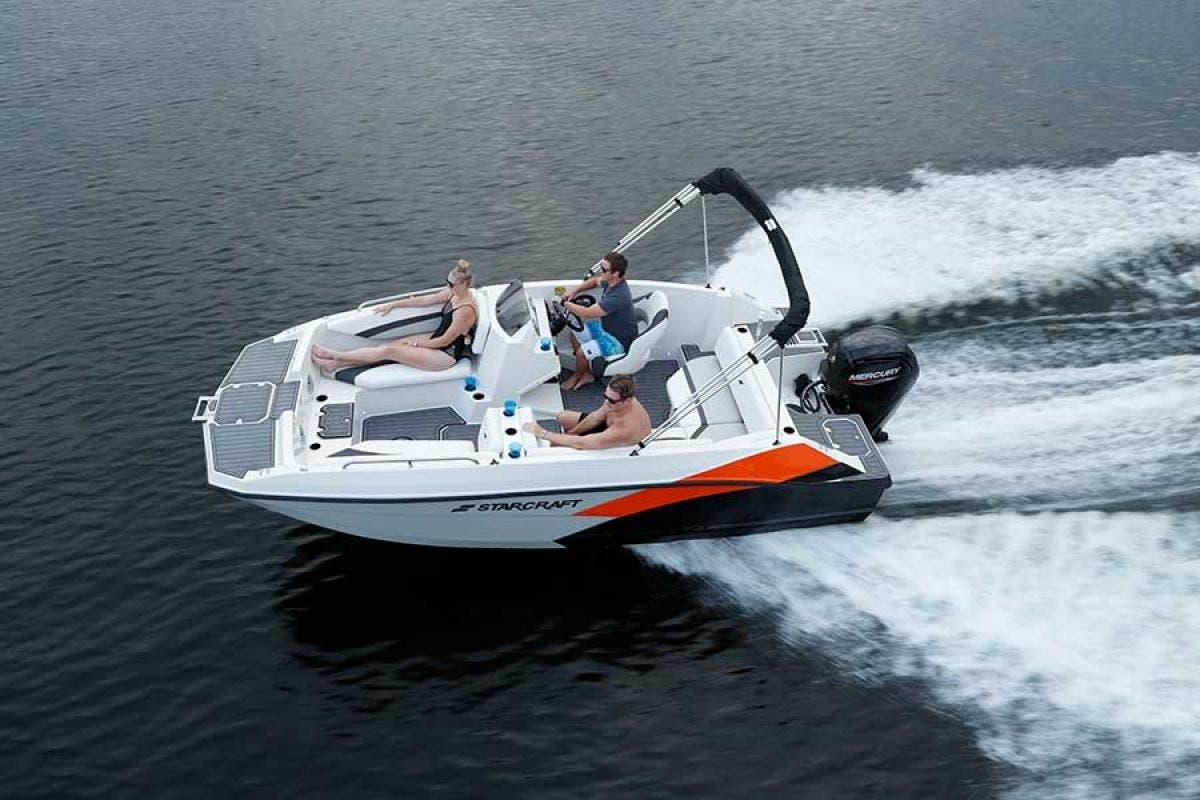2022 Starcraft boat for sale, model of the boat is SVX 171 OB & Image # 3 of 3