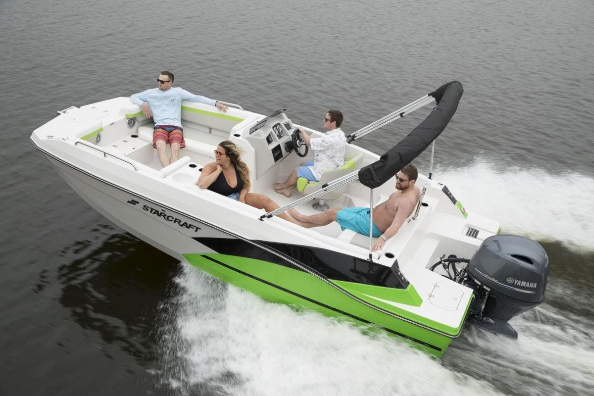 2022 Starcraft boat for sale, model of the boat is SVX 191 OB & Image # 3 of 5