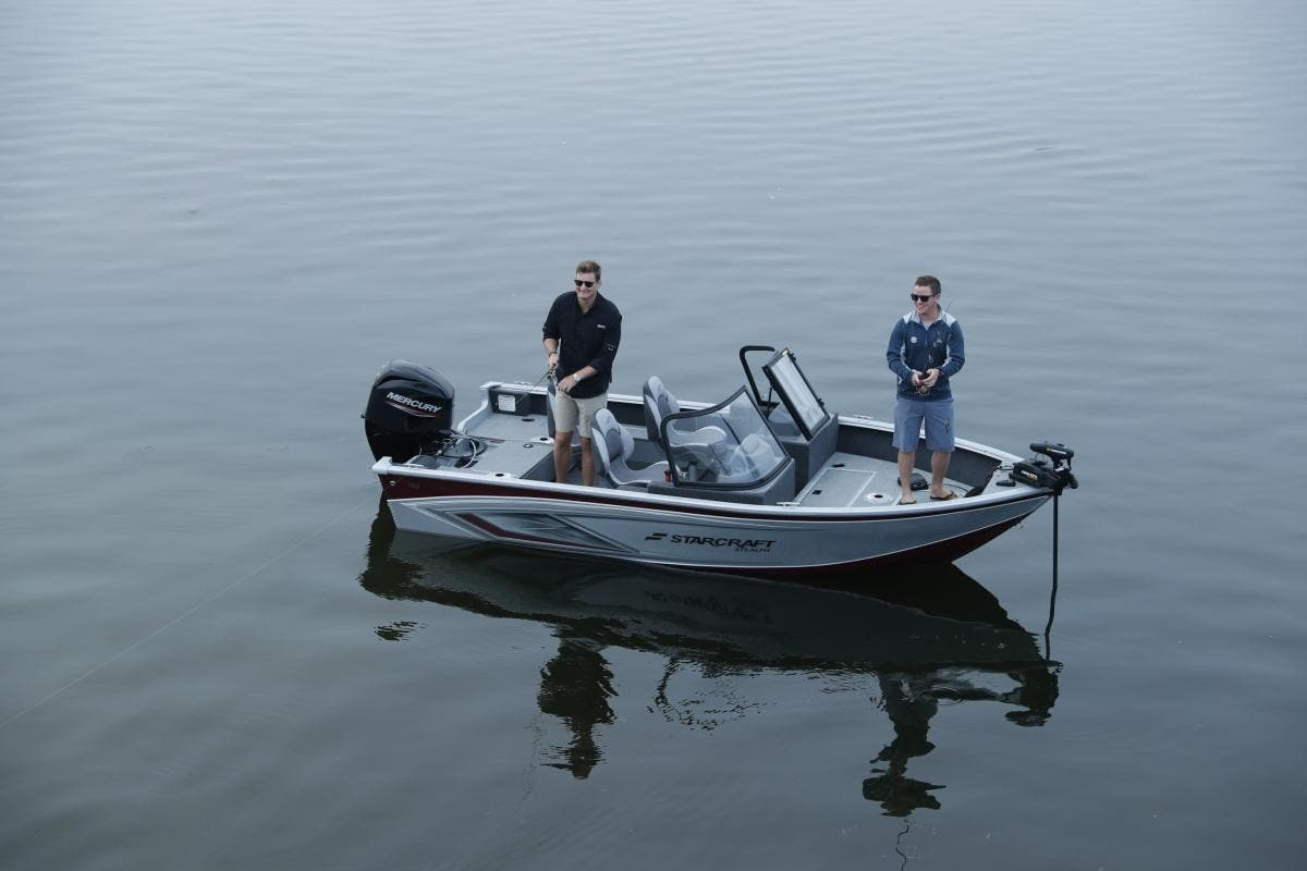 2022 Starcraft boat for sale, model of the boat is Stealth 166 DC & Image # 7 of 9